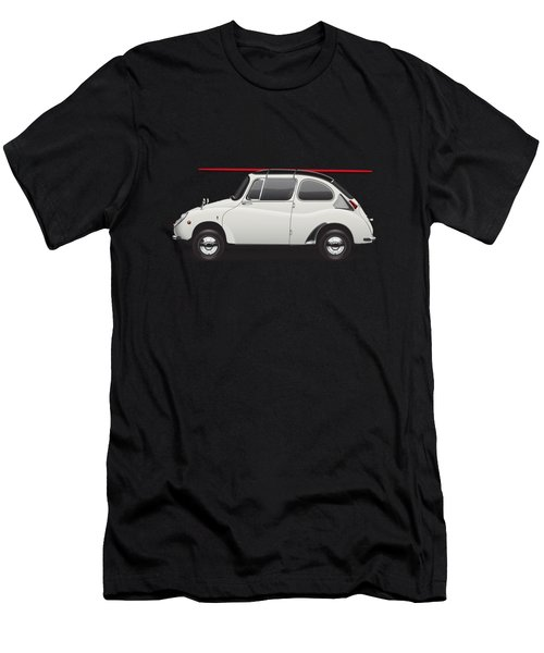 1969 Subaru 360 Young Ss - Creme Men's T-Shirt (Athletic Fit)