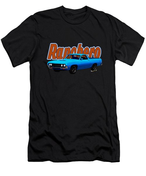 1970 Ranchero Dominican Beach Sunrise Men's T-Shirt (Athletic Fit)
