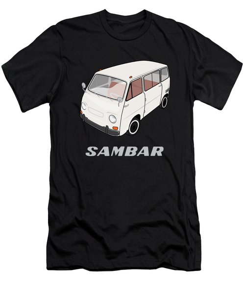 1970 Subaru Sambar Van Men's T-Shirt (Athletic Fit)