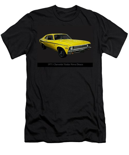 1971 Chevy Nova Yenko Deuce Men's T-Shirt (Athletic Fit)