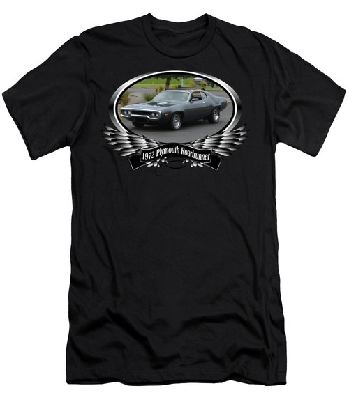 1972 Plymouth Roadrunner Grow Men's T-Shirt (Athletic Fit)