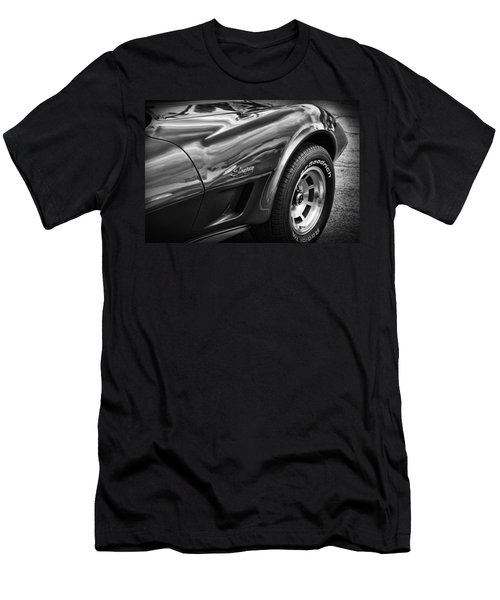 1973 Chevrolet Corvette Stingray Men's T-Shirt (Athletic Fit)