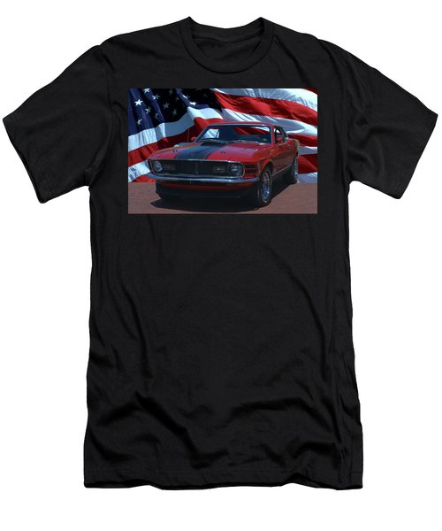 1970 Mustang Mach I Men's T-Shirt (Athletic Fit)