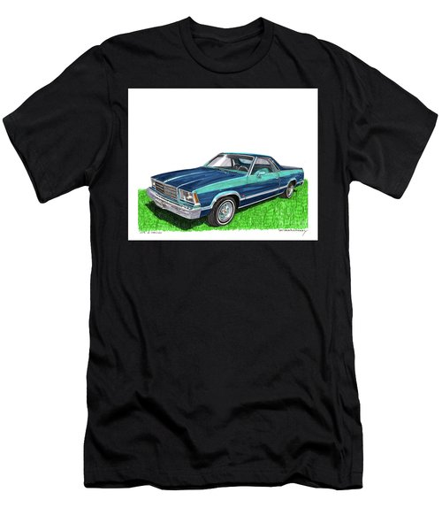 1979 Chevrolet El Camino Men's T-Shirt (Athletic Fit)