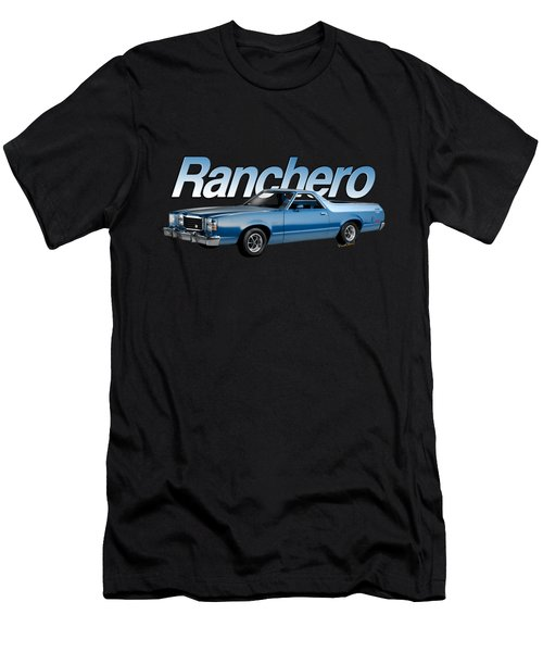 1979 Ranchero Gt 7th Generation 1977-1979 Men's T-Shirt (Athletic Fit)