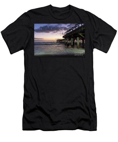 1st Dawn Cocoa Pier Men's T-Shirt (Athletic Fit)