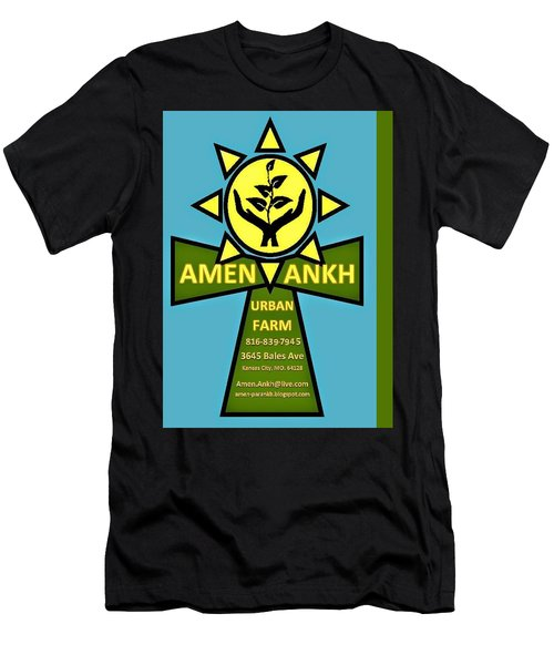 Amen Ankh Men's T-Shirt (Athletic Fit)