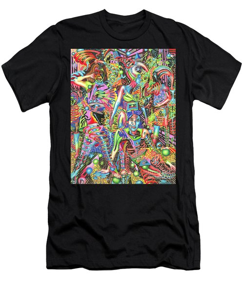 Animated Perspective Of Nocturnal Wandering Men's T-Shirt (Athletic Fit)