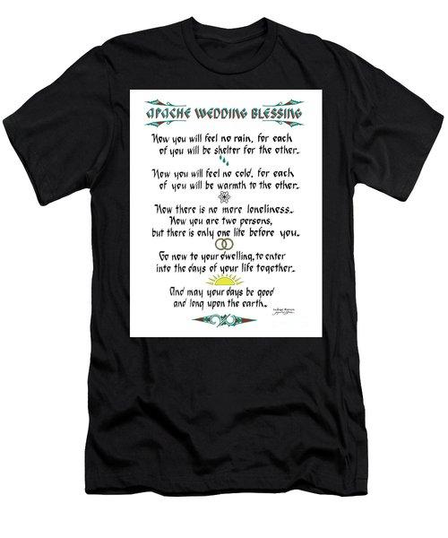 Apache Wedding Blessing Men's T-Shirt (Athletic Fit)