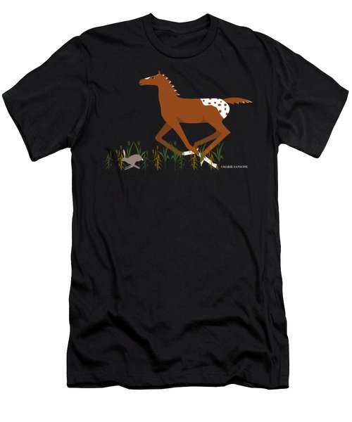Appy Foal Men's T-Shirt (Athletic Fit)