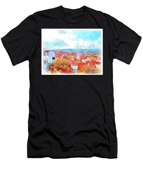 Arzachena View Men's T-Shirt (Athletic Fit)