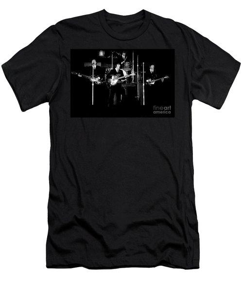 Beatles In Concert 1964 Men's T-Shirt (Athletic Fit)