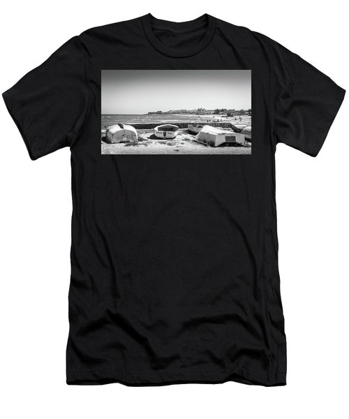 Boats. Men's T-Shirt (Athletic Fit)