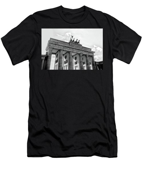 Brandenburg Gate - Berlin Men's T-Shirt (Athletic Fit)