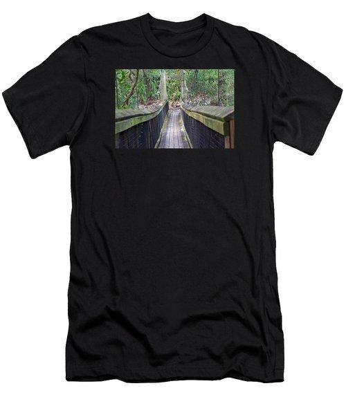 Bridge To Paradise Men's T-Shirt (Athletic Fit)