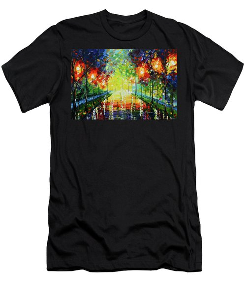 Bright Path Men's T-Shirt (Athletic Fit)