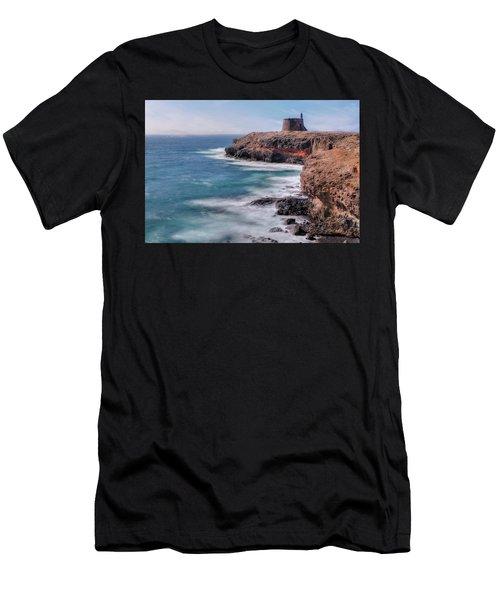 Castillo De Las Coloradas - Lanzarote Men's T-Shirt (Athletic Fit)
