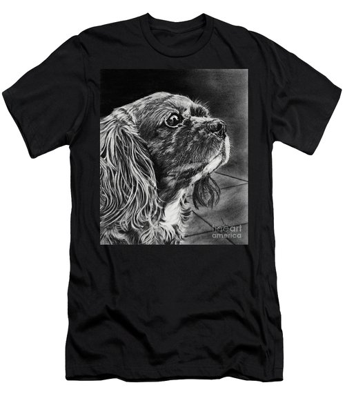 Cavalier II Men's T-Shirt (Slim Fit) by Terri Mills