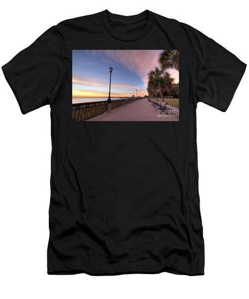Charleston Waterfront Park Sunrise  Men's T-Shirt (Athletic Fit)