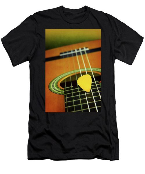Men's T-Shirt (Slim Fit) featuring the photograph Classic Guitar  by Carlos Caetano
