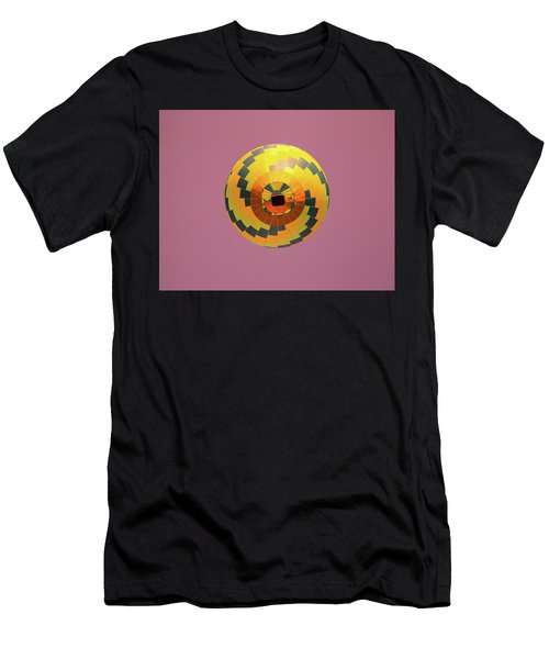 Colorful Abstract Hot Air Balloon Men's T-Shirt (Athletic Fit)