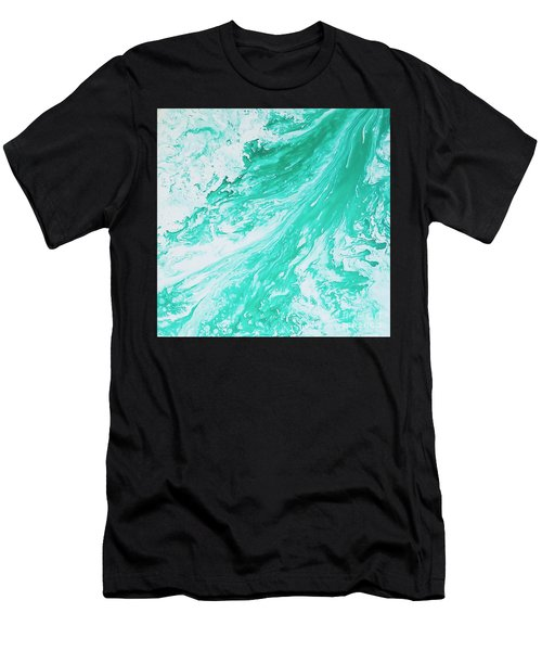 Crystal Wave 5 Men's T-Shirt (Athletic Fit)