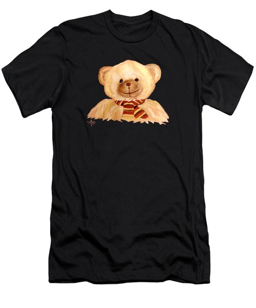 Cuddly Bear Men's T-Shirt (Athletic Fit)