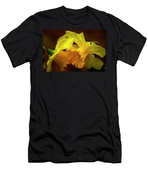 2 Daffodils Men's T-Shirt (Athletic Fit)