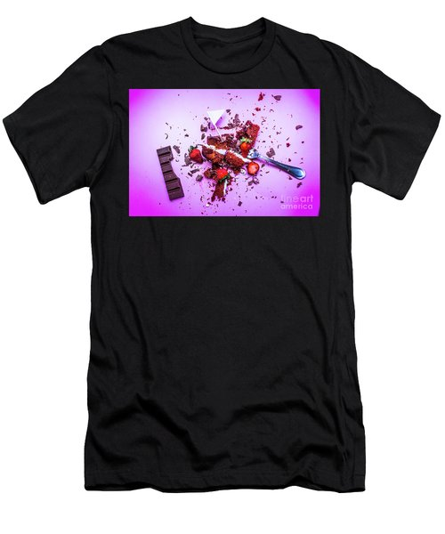 Death By Chocolate Men's T-Shirt (Athletic Fit)