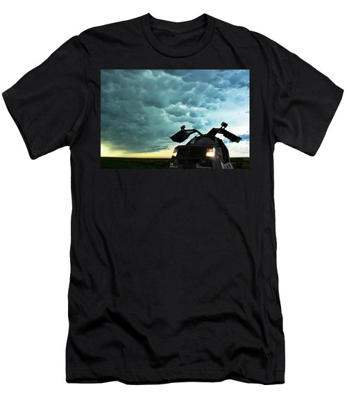 Men's T-Shirt (Slim Fit) featuring the photograph Dominating The Storm by Ryan Crouse