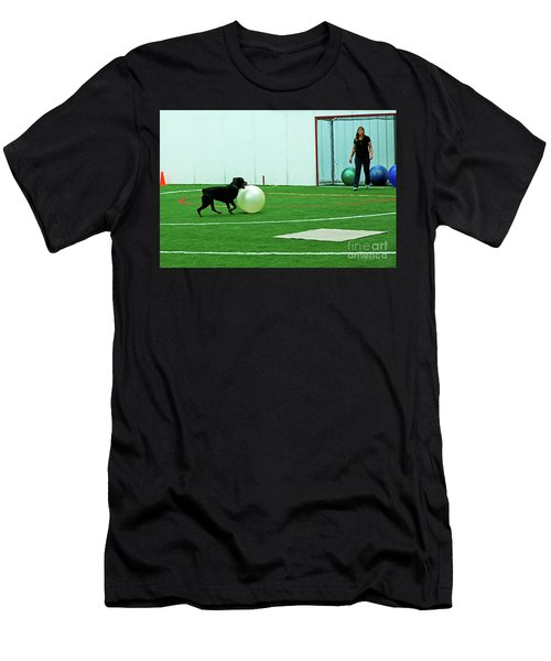 Men's T-Shirt (Athletic Fit) featuring the photograph Donna And Sinjin by Fred Stearns