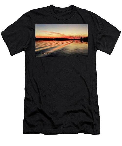 Doug Hobson, Red Rock Lake Men's T-Shirt (Athletic Fit)