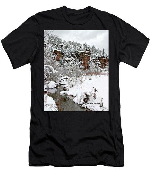 East Verde Winter Crossing Men's T-Shirt (Athletic Fit)