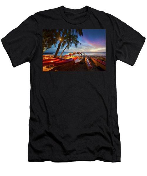 Evening Falls Men's T-Shirt (Athletic Fit)