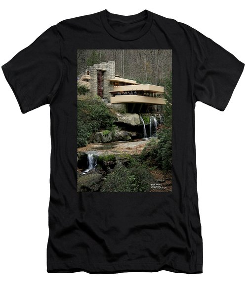 Fallingwater Men's T-Shirt (Athletic Fit)
