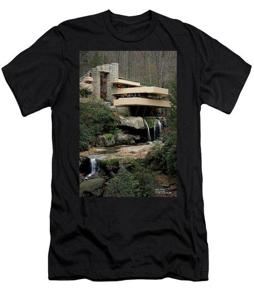 Fallingwater Men's T-Shirt (Athletic Fit)