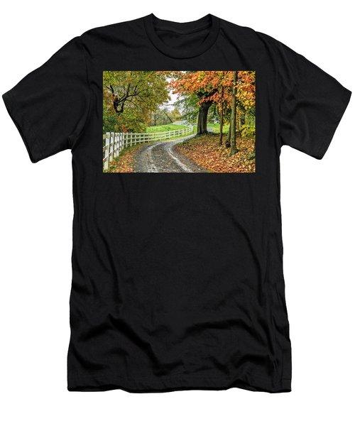 Fence Line Men's T-Shirt (Athletic Fit)