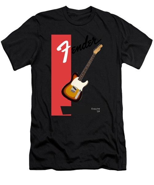 Fender Esquire 59 Men's T-Shirt (Athletic Fit)