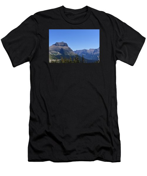 Fire Within Glacier National Park Men's T-Shirt (Athletic Fit)