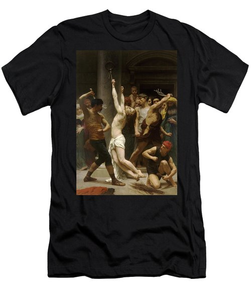 Flagellation Of Christ Men's T-Shirt (Athletic Fit)