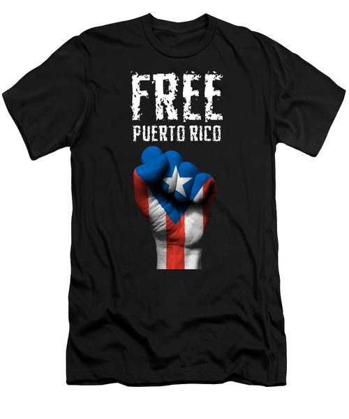 Free Puerto Rico Men's T-Shirt (Athletic Fit)