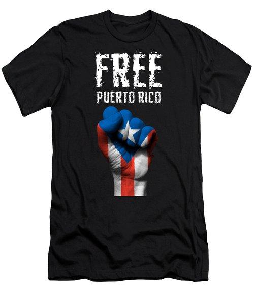 Free Puerto Rico Men's T-Shirt (Athletic Fit)