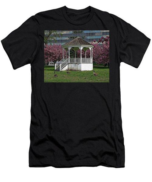 Gazebo In The Park Men's T-Shirt (Athletic Fit)
