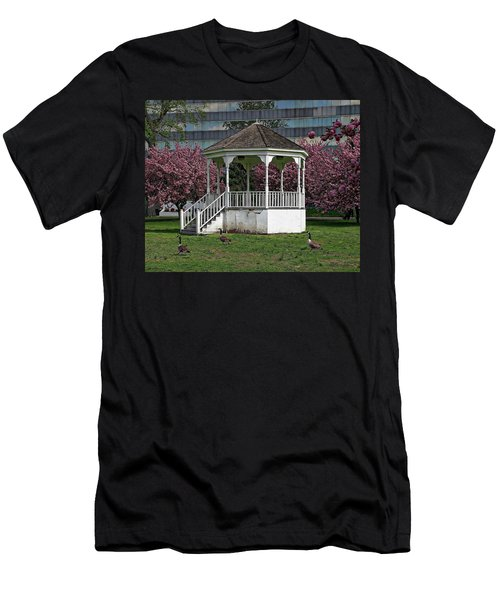 Gazebo In The Park Men's T-Shirt (Athletic Fit)