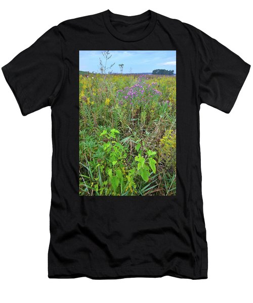 Glacial Park Native Prairie Men's T-Shirt (Athletic Fit)