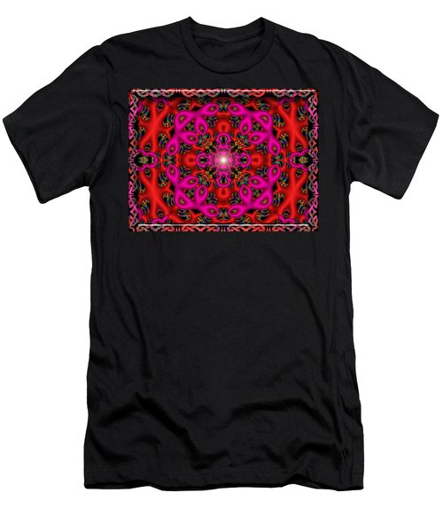 Men's T-Shirt (Slim Fit) featuring the digital art Glimmer Of Hope by Robert Orinski