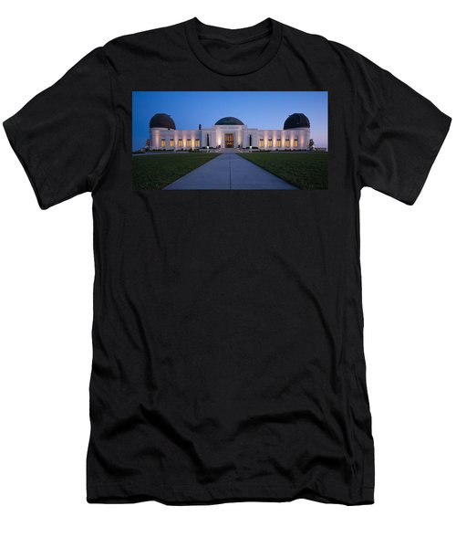 Griffith Observatory Men's T-Shirt (Athletic Fit)