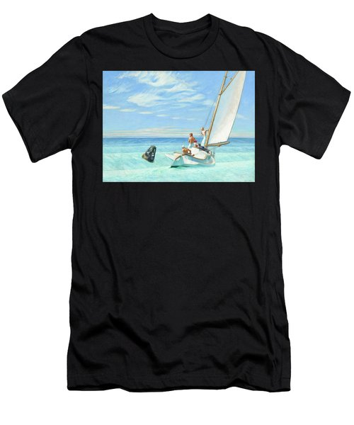 Ground Swell Men's T-Shirt (Athletic Fit)
