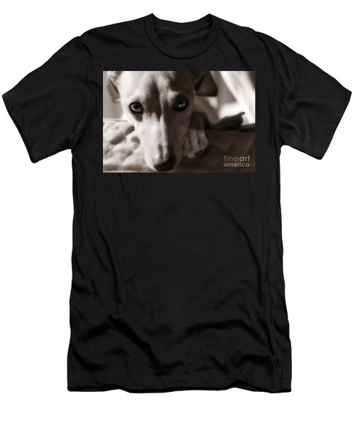 Heart You Italian Greyhound Men's T-Shirt (Athletic Fit)
