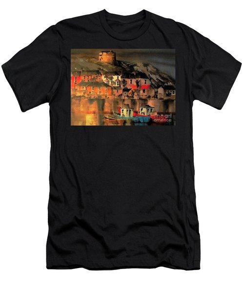 Howth Sunset Dublin Men's T-Shirt (Athletic Fit)